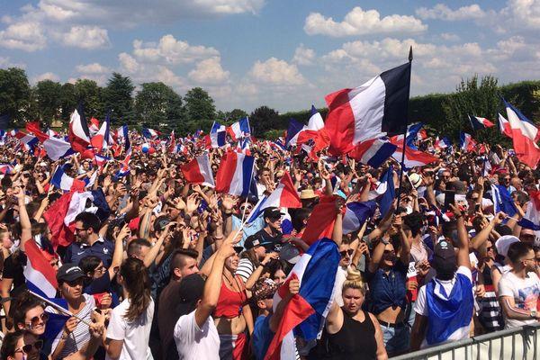 13000 spectateurs dans le parc de Blossac à Poitiers