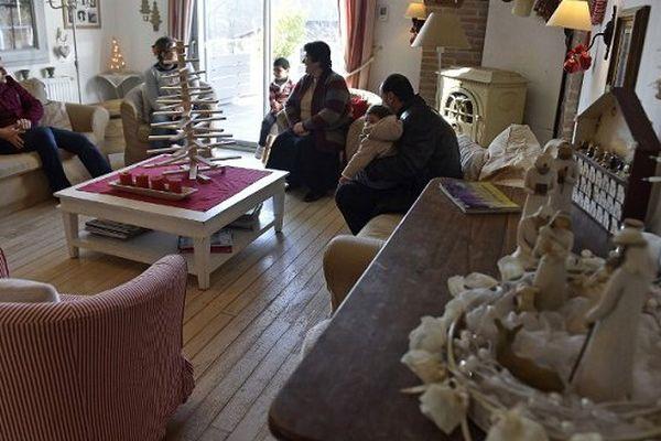 Balsam et sa famille, arrivés d'Irak en octobre vont passer leur premier Noël en France, à Pibrac près de Toulouse.