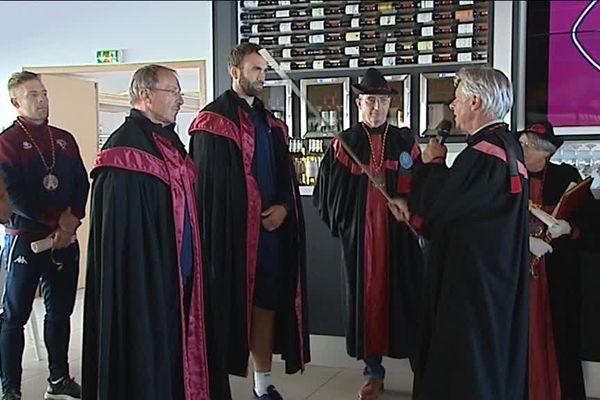 Plusieurs joueurs de l'UBB ont été intronisés lors d'une cérémonie officielle