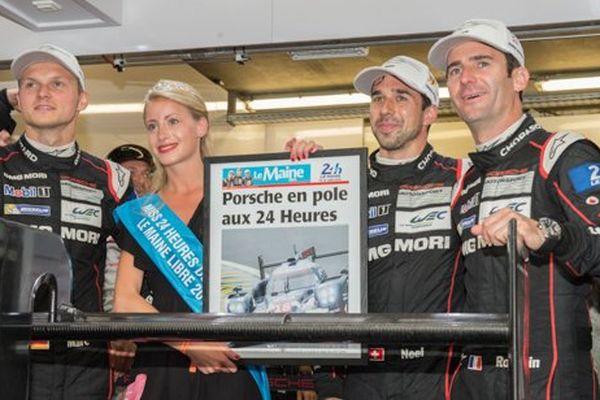 Carton plein pour Porche en pole position pour cette 83e édition des 24 Heures du Mans