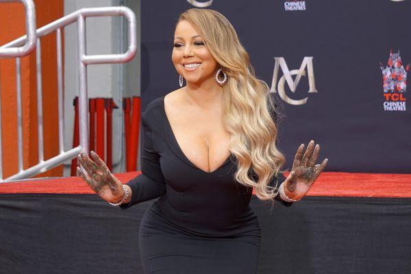 Mariah Carey, en 2017.