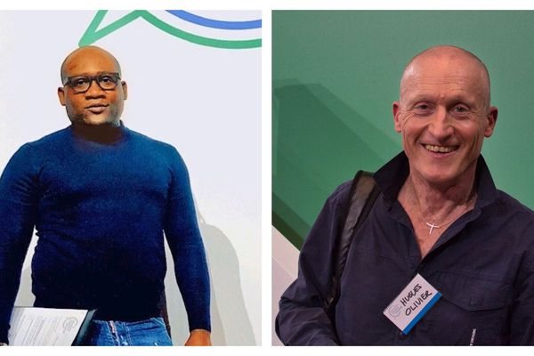 Kisito Onbogo et Hugues-Olivier Brillouin, habitants de la région Centre-Val de Loire, font partie des 150 citoyens tirés au sort pour la Convention pour le climat