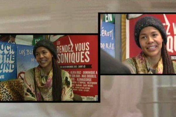 L'équipe de LOCB a rencontré la chanteuse Ayo à l'occasion de son passage à Saint-Lô