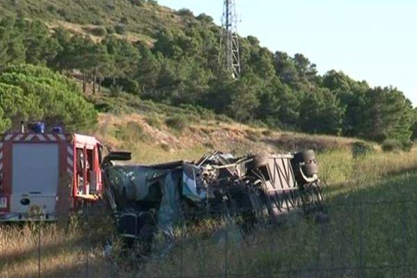 L'accident a fait deux morts et une trentaine de blessés
