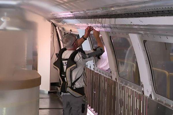 Exosquelette testé chez Alstom