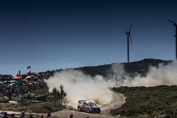 Sébastien Ogier partait favori dans ce rallye du Portugal.