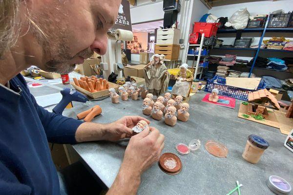 Les stocks des santonniers sont pleins, la saison se joue en deux mois.