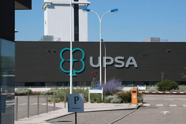 L'usine UPSA d'Agen