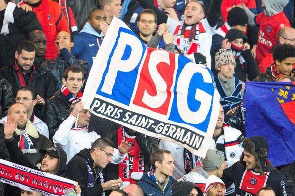 Un match PSG/OM, au Parc des Princes, le 31 octobre 2012.