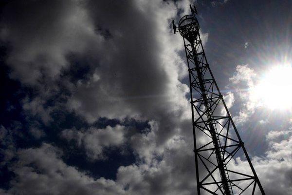 Une antenne relais en Bretagne