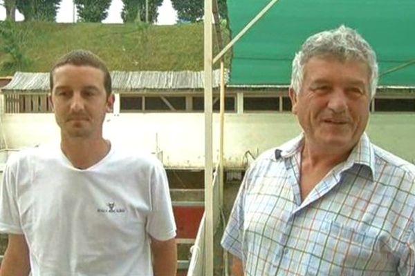 Romain et Claude Laborde, les gardiens des arènes de Mont-de-Marsan