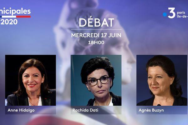 Un débat organisée par France 3 Paris Ile-de-France et franceinfo et présenté par William Van Qui et Marc Fauvelle.