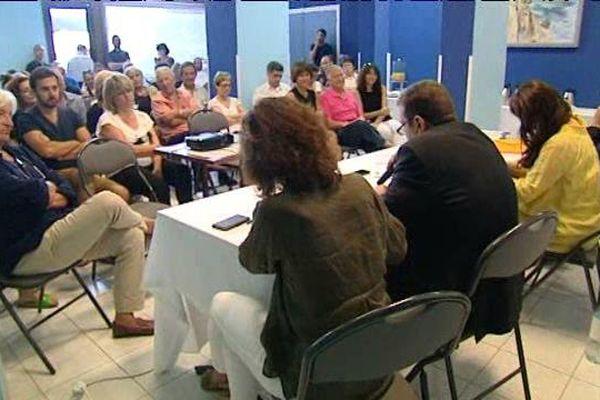 Le mouvement Corse Social Démocrate, le 18 juillet à Ajaccio