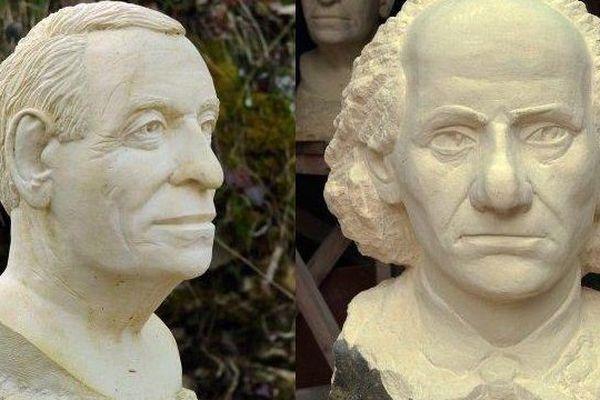Les portraits volées aux Lapidiales entre le 7 et 8 octobre 2015.