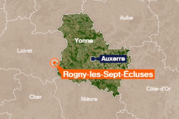 Rogny-les-Sept-Ecluses (Yonne)