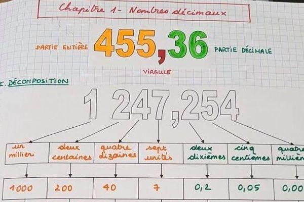 """Estelle Kollar, professeur de mathématiques au collège Louis Armand de Nancy. Le 2 avril, elle a lancé sa chaîne Youtube """"CharisMathic"""" pour aider ses élèves en mathématiques."""