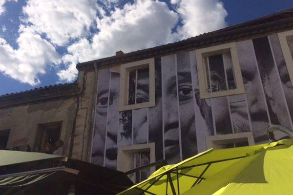 La ZAT (Zone Artistique Temporaire) investit les murs du quartier Figuerolles à Montpellier.
