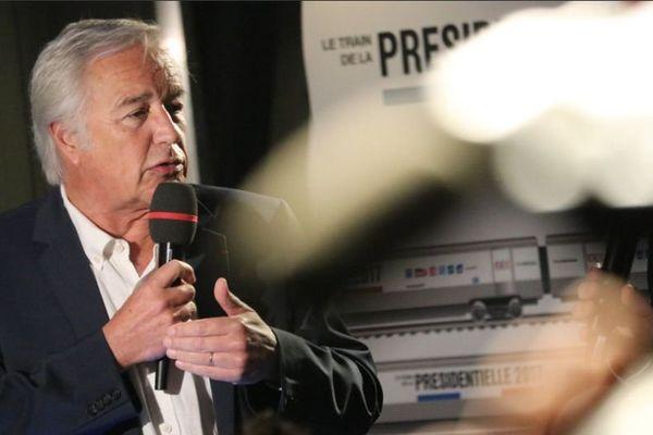 François Rebsamen a participé dimanche 9 avril 2017 à un débat organisé par France 3 Bourgogne dans le cadre du Train de la présidentielle.