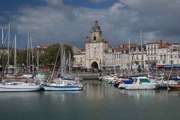 Le vieux port de La Rochelle, le 8 avril 2020 pendant le confinement.