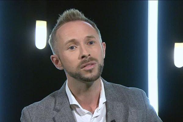 Erwan Le Hô, président du centre LGBT Côte d'Azur