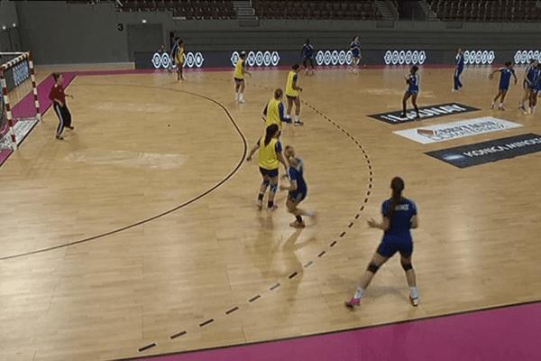 Match entrainement en public à l'Arena de Brest
