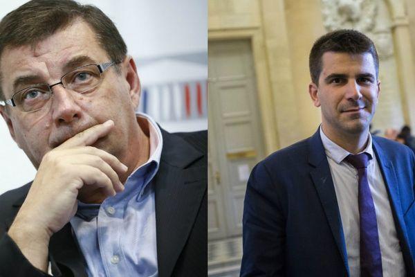 Jean-François Lamour et Mathieu Hanotin.
