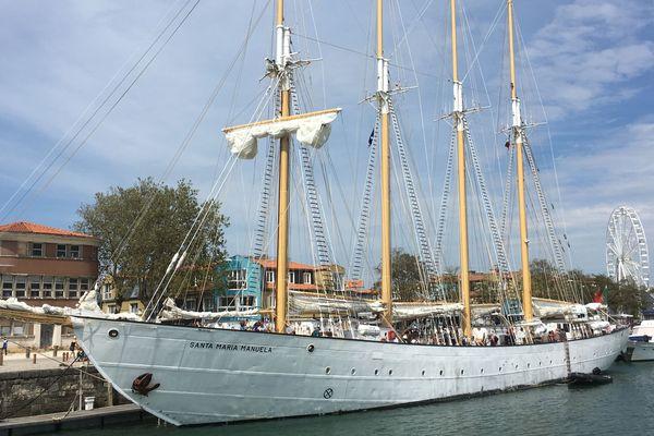 Le navire est en escale en Gironde du 24 au 26 juin.