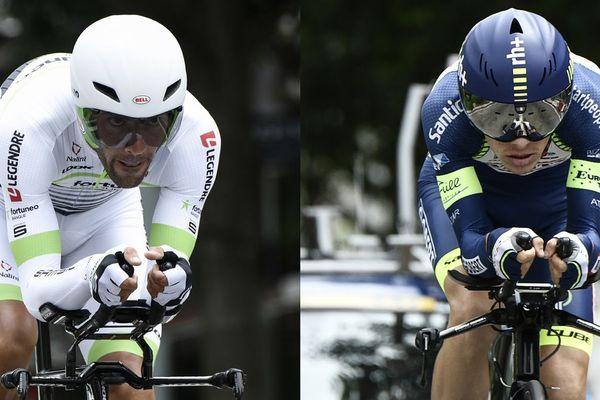 Le Manchois Amaël Moinard et l'Ornais Guillaume Martin sont les deux Normands du Tour de France 2018