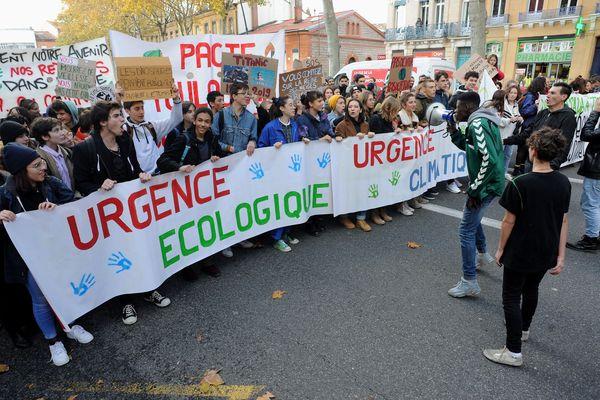 Marche de la jeunesse pour le climat à Toulouse