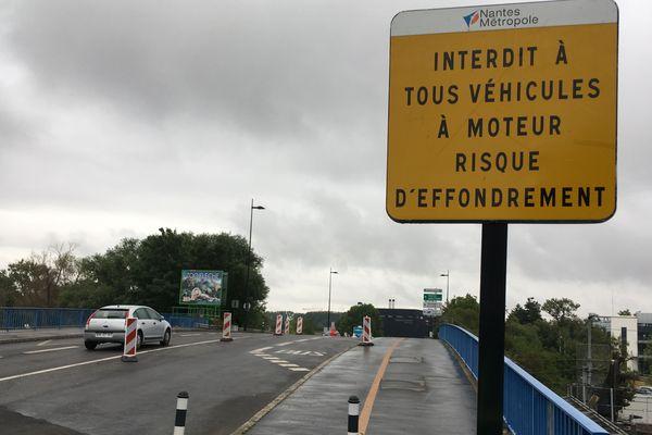Le pont entre le Boulevard de Seattle et le Boulevard de Doulon à Nantes est-il en si mauvais état ?