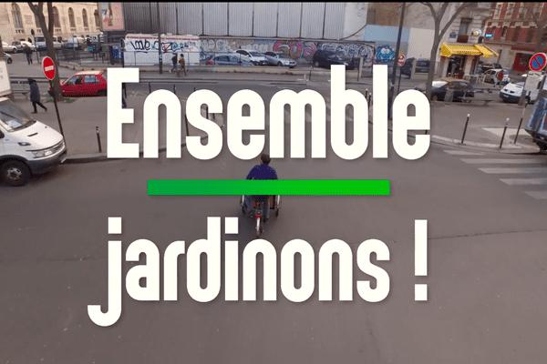 Ensemble, Jardinons! est un magazine citoyen et participatif qui propose dans chaque programme de végétaliser un espace urbain en une seule journée.