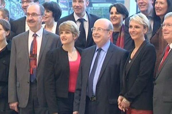 Jean Germain et ses conseillers pour les prochaines élections Municipales