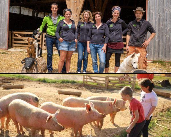 Créer du lien et faire de la pédagogie sont les clefs d'une agriculture responsable selon l'équipe de 8 personnes investies sur place à La Baume Cornillane dans la Drôme