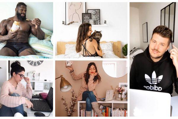 Ces cinq instagrameurs strasbourgeois partagent leur confinement sur leurs réseaux sociaux.