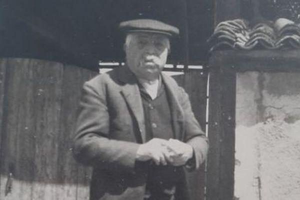 Jean Restoueix, métayer de la ferme de la famille Descubes