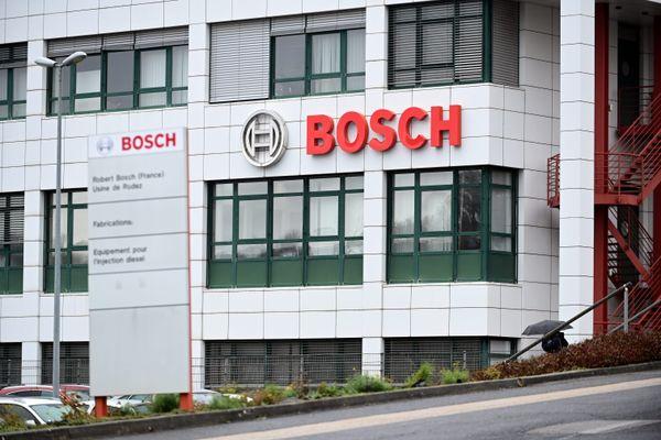 Le président de Bosch France, Heiko Carrié, est venu dans l'Aveyron annoncer la suppression de 750 emplois au cours des quatre prochaines années.