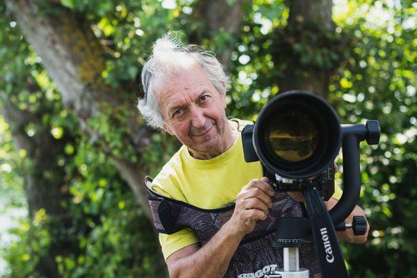 Jean-Charles Balla a passé des heures à la Ballastière, son appareil photo à la main.
