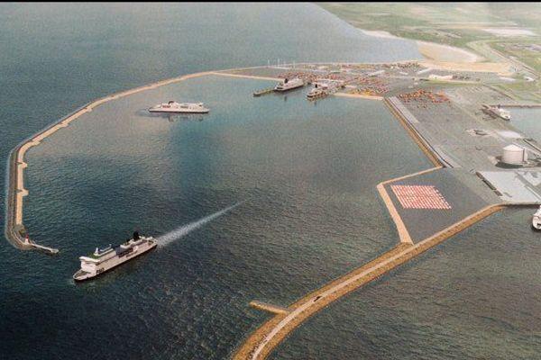 Le projet Calais Port 2015