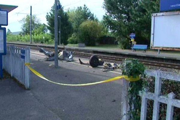 Une femme de 68 ans est morte mercredi matin après avoir été percutée par un TER à Föecy dans le Cher.