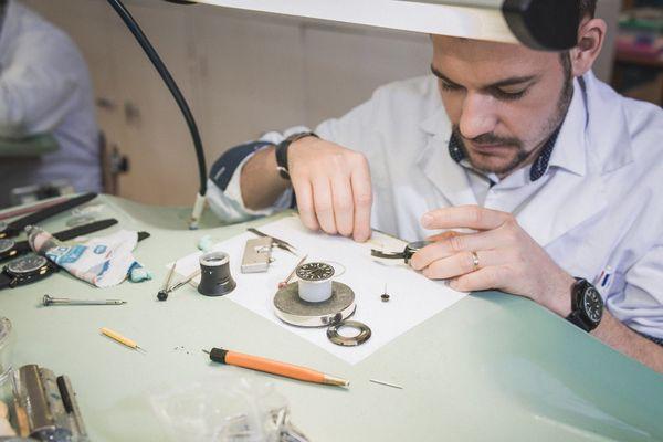 A 25 ans, Julien Humbert-Droz dirige les ateliers Réparalux
