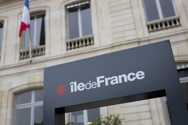 Le siège du conseil régional d'ïle de France