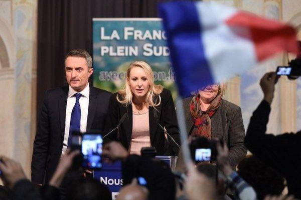 Marion Maréchal-Le Pen le 13 décembre 2015