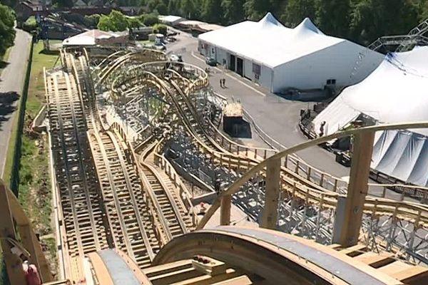 Le parc Saint-Paul, près de Beauvais (Oise), a investi près de la moitié de son chiffre d'affaires dans une nouvelle attraction.