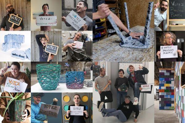 Le visuel de l'association lors de la campagne de vote, du 15 juin au 15 juillet
