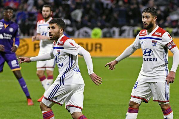 La match contre Toulouse a été marqué par le retour de Nabil Fekir et la rentrée sur le terrain de Yassin ,son jeune frère
