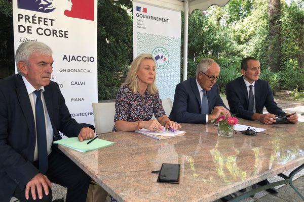 Ce vendredi 24 septembre, le préfet de Corse en a divulgué les contours tout en revenant sur les dotations versées à l'île durant un an.