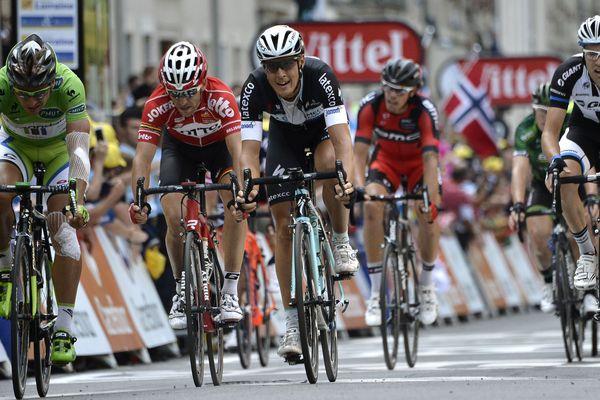 Arrivée du Tour de France à Nancy, le 11 juillet 2014.