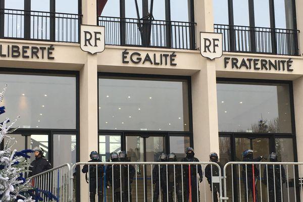 Liberté, Egalité, Fraternité une devise commune au président de la République et aux Gilets Jaunes de Saint-Nazaire