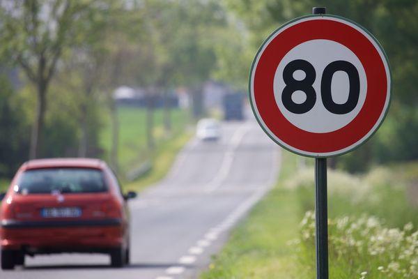 Les routes secondaires en France limitées à 80km/h depuis juillet 2018