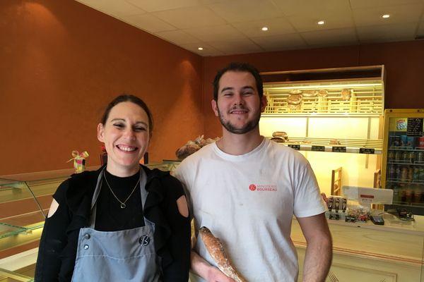 Aline et Alban Latrille ont repris la boulangerie O bon pain de Villandraut